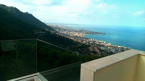 Heaven on earth loft panoramic sea view