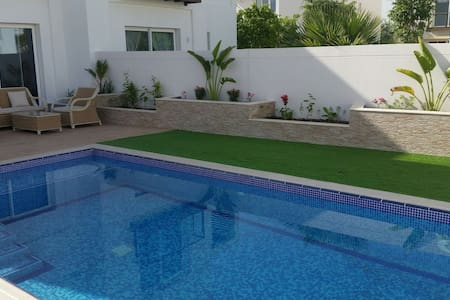 ModernRoom with Pool nearby Airport @ Al Mouj [01] - Muscat - Huvila