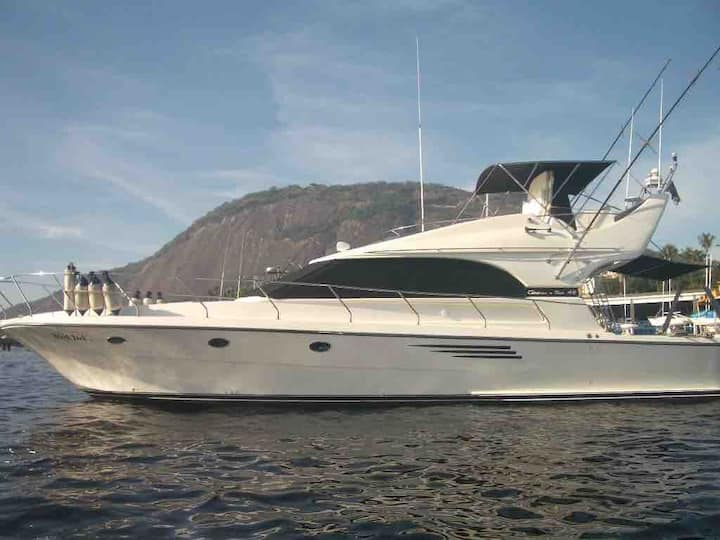 Boat charter/Rio de Janeiro
