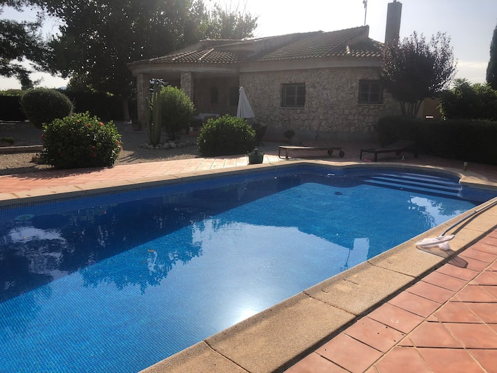 Murcia Country Villa: mountain view, private pool