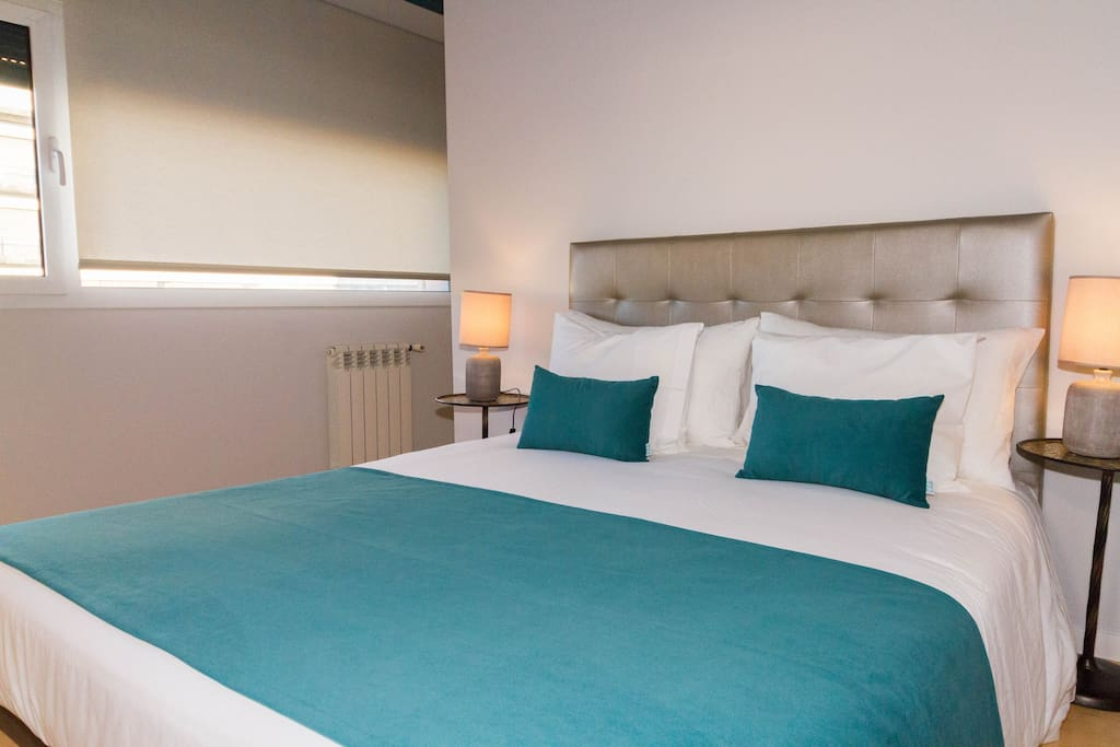 Room with 2 beds or one King size bed with central heating