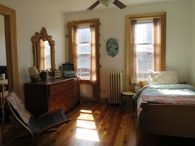 Top floor of a charming Brooklyn townhouse - Brooklyn - Autre