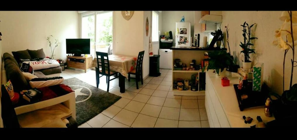 Apartment near Bordeaux (20min) - Fargues-Saint-Hilaire