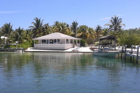 Breathtaking guesthouse in Man-O-War Cay, Bahamas - Marsh Harbour
