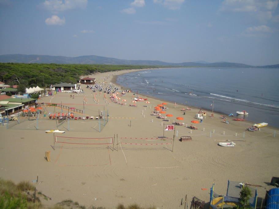 7 km Strand