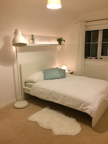Spacious and comfortable double room.