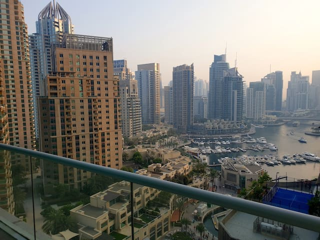 Duplex Apartment with full Marina view