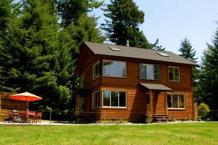 Redwood Chalet-downstairs - Arcata - Annat