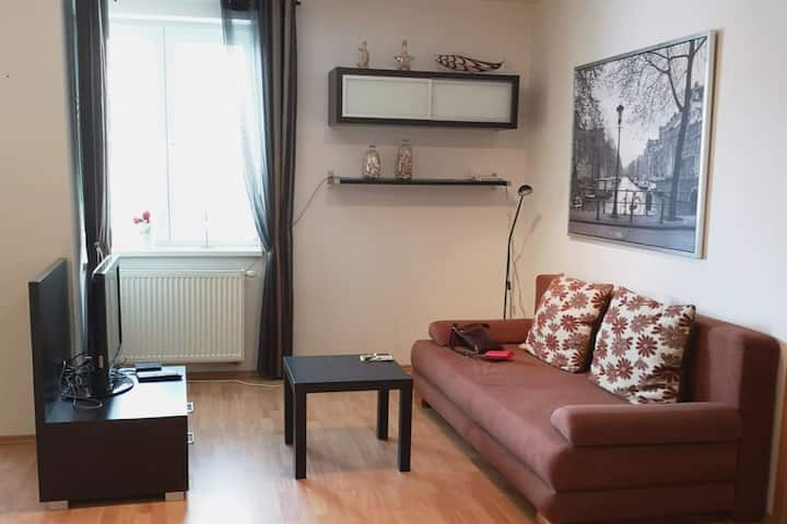 Charming apartment in a quiet area close to centre