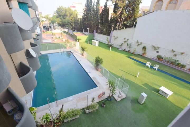 Apartamento con piscina centro de Torremolinos