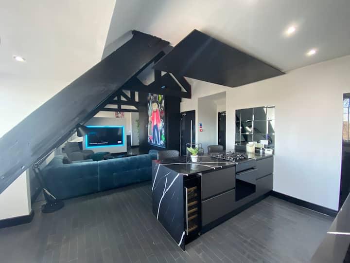 'Monopoly' Penthouse Apartment