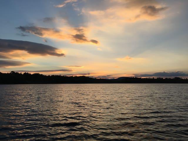 Fahi Pond Retreat Embden, ME - Nature's Paradise!!