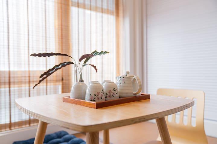 【绿舍】和风小屋/临惠山古镇/森林公园天然氧吧/独享整个房源