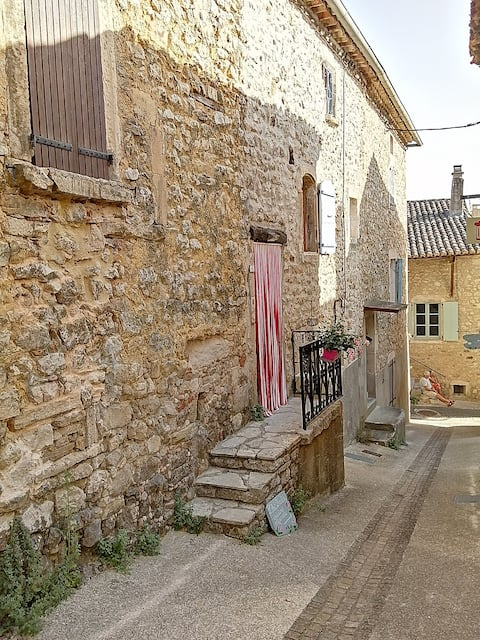 Typical Ardèche village house