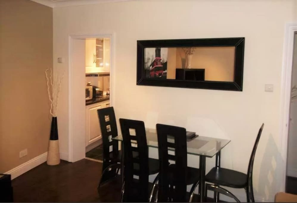 Dinning table in the lounge area