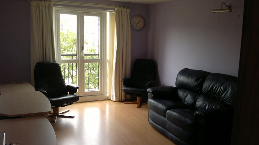 Bright, large double bedroom - Edinburgh - Apartment