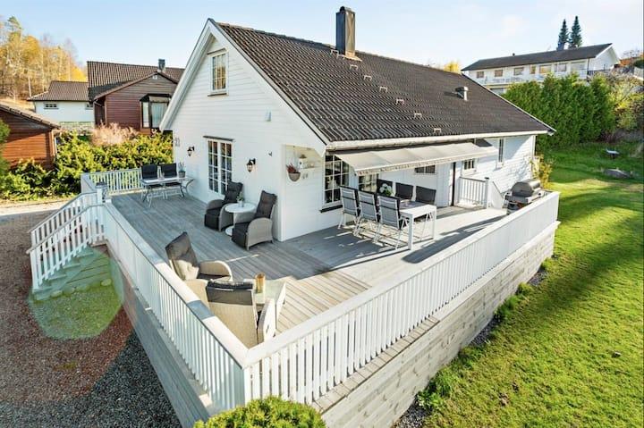 Villa til 9 personer i nærheten av Oslo