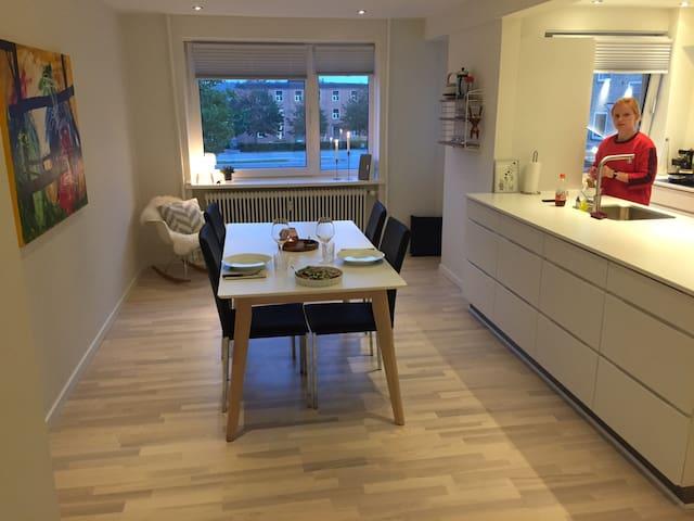 Stor lækker lejlighed med altan - Aalborg - Apartamento