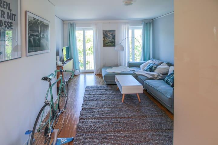 Stilvolle schöne Wohnung, Stadt- und Isarnah