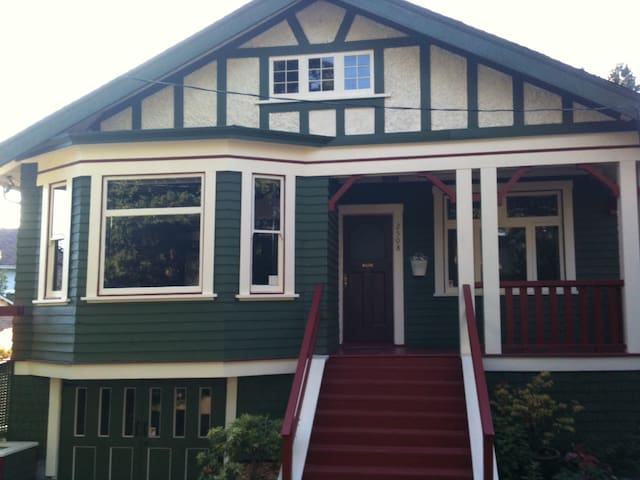 A charming, quirky heritage home in Fernwood