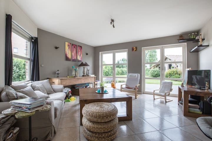 Villa individuelle (écologique) en pleine campagne - Comines-Warneton - Villa