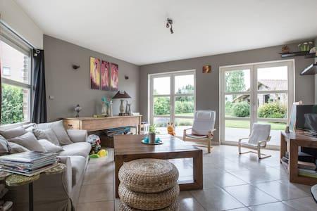 Villa individuelle (écologique) en pleine campagne - Comines-Warneton - Casa de camp