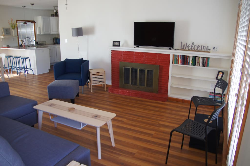 Main living space. Open and bright.