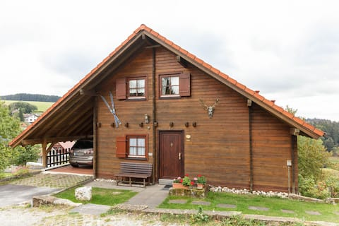 Spacious Chalet in Hinterrod Thuringia with Sauna