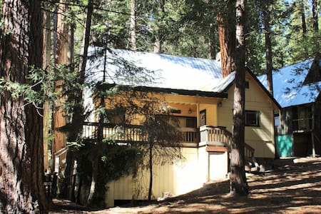 The Alta Sierra Tree House: Dog Friendly! - Wofford Heights