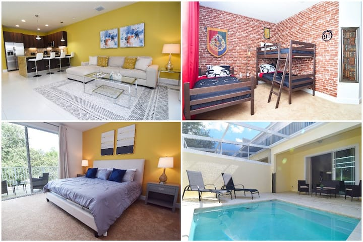 Stunning new 3 bed townhome, Disney 9 miles!