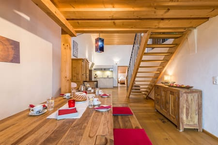 """Charming Apartment """"Bergblick"""" in Farmhouse with Balcony, Garden & Wi-Fi; Parking Available"""