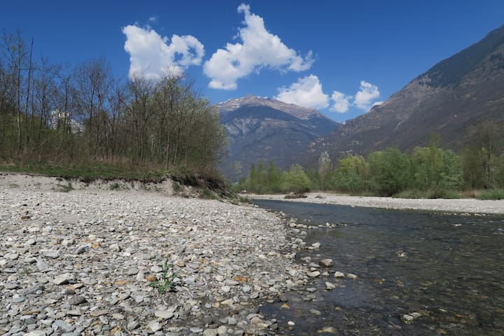 Fiume a 300 m