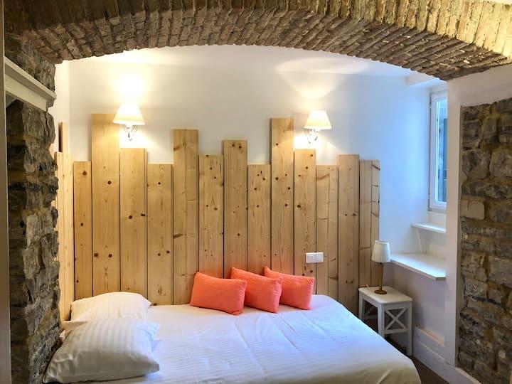 Petite Chambre à Biarritz avec vue terrasse sud