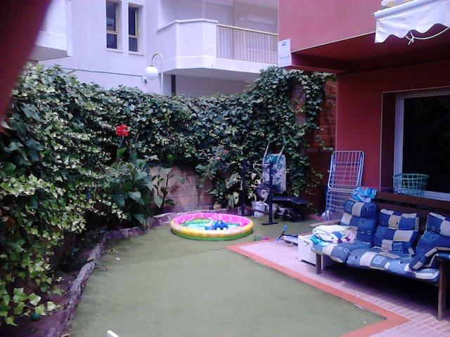 casa para septiembre en la pineda 3 hab jardin - Platja de la Pineda - Dom
