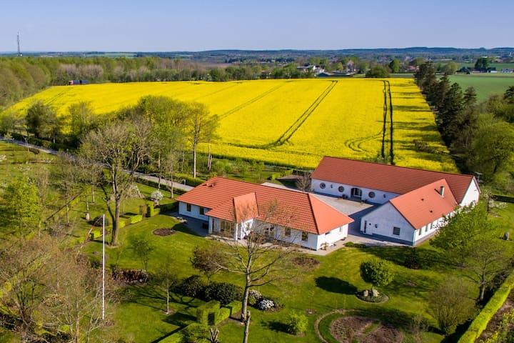 Herning Kommune god plads og naturskøn beliggenhed