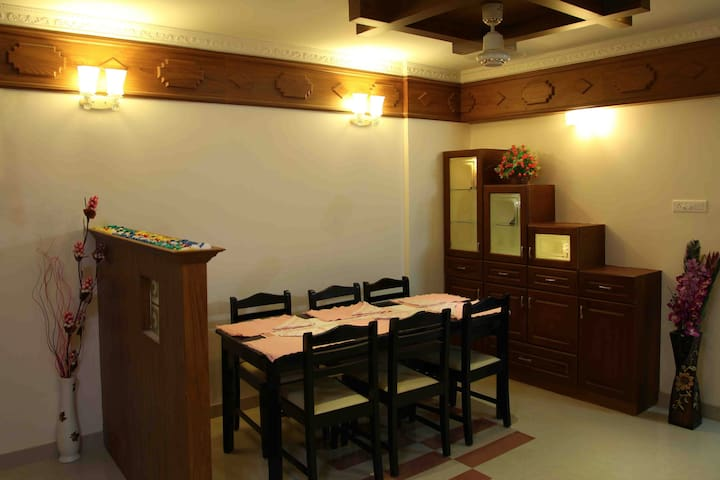 One Bed Room Fully Furnished Apartments - Nedumbassery - Apartment