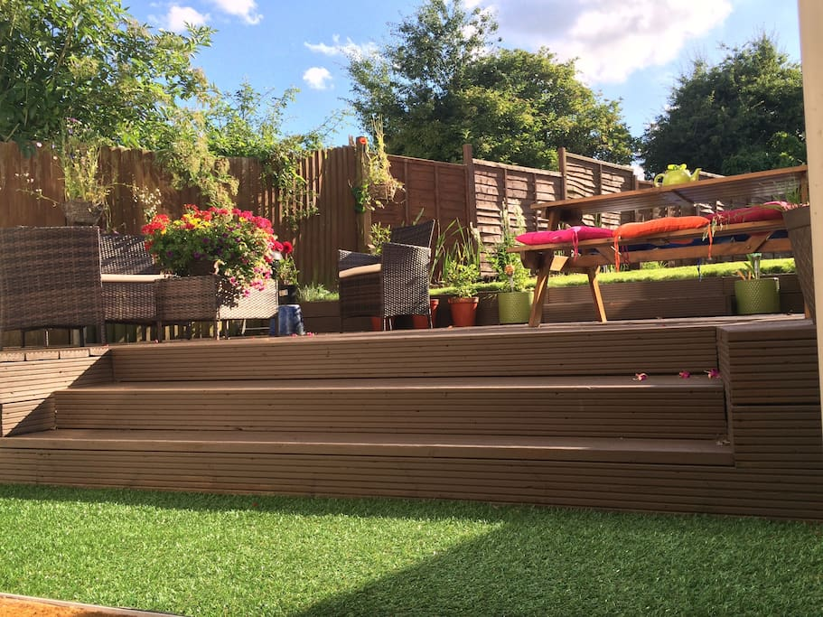 garden on a summer's day