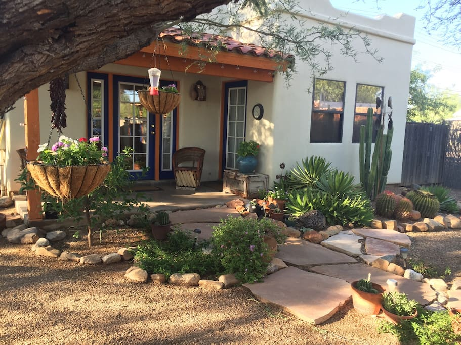 View of the front of the Your Casita