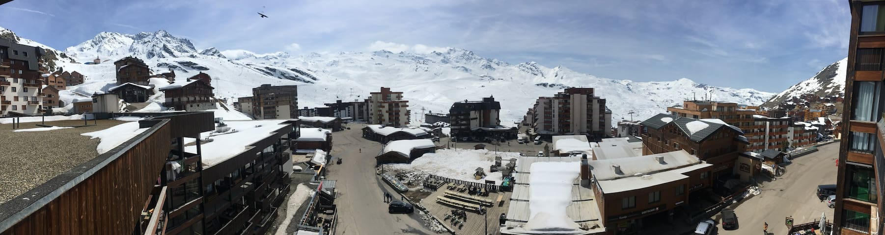 Val Thorens - 5th floor with a view!