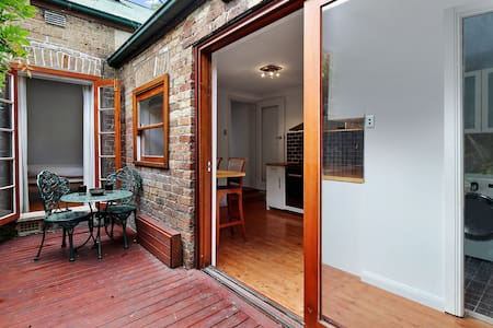 Terrace in quiet street with easy city access - Petersham - Casa