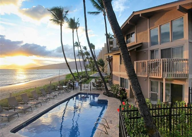 Kihei Sands - Beachfront 2 Bedroom Condo - 2nd Flr