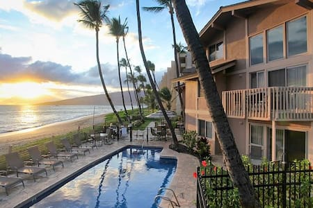 Kihei Sands - Beachfront 2 Bedroom Condo - 2nd Flr