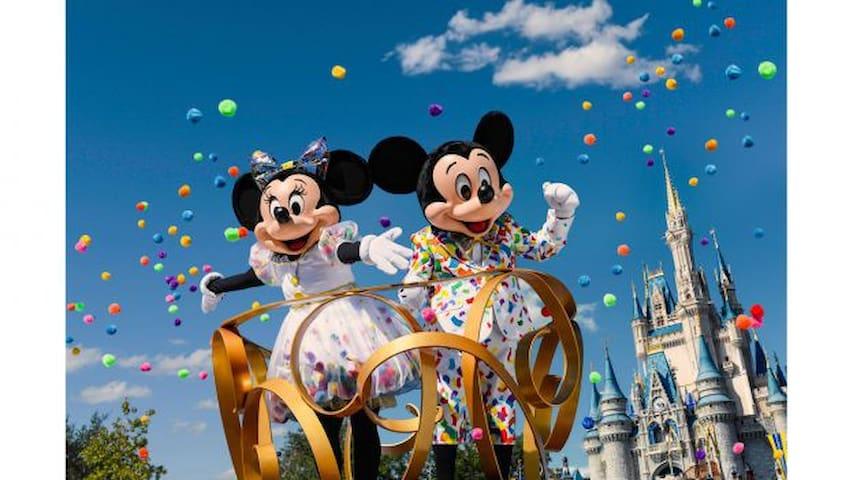 Tokyo Disney land 40min by car! Rose house #204
