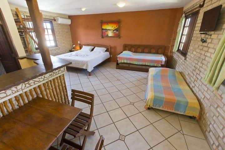 Pousada Tropical Wind - Apartamento família