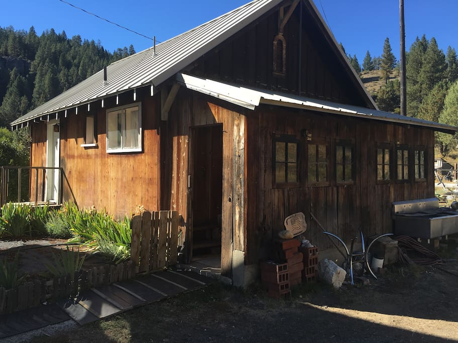 Our guest cabin.