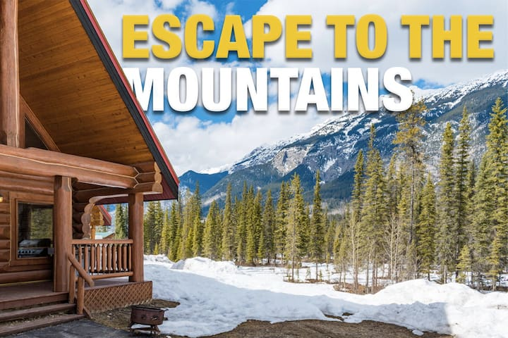 ☼Getaway Cabin Ideal For Groups Exploring Rockies☼