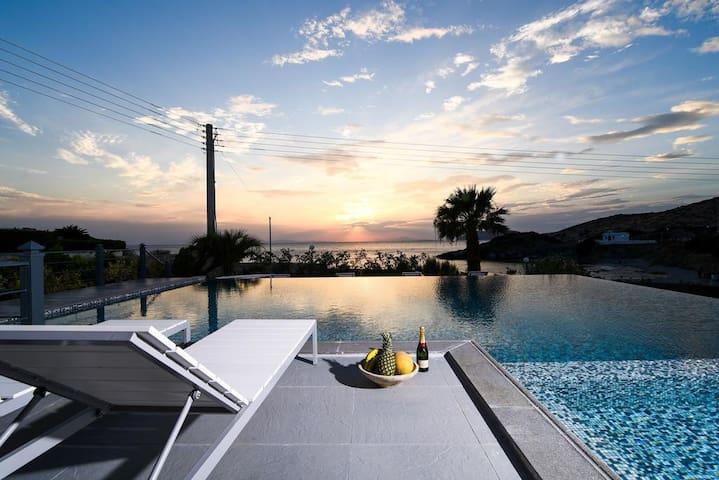 VIP Athenian Beach Front Villa
