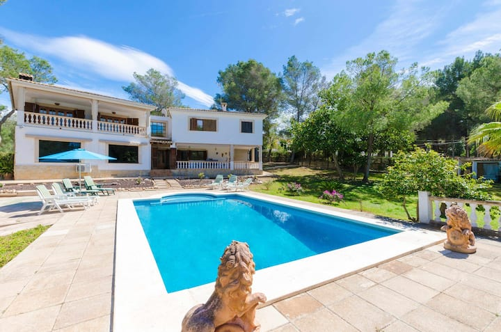 YourHouse Can Marques - villa with private pool near the sea