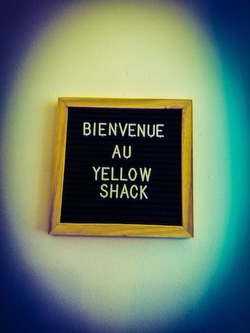 Le Yellow Shack !