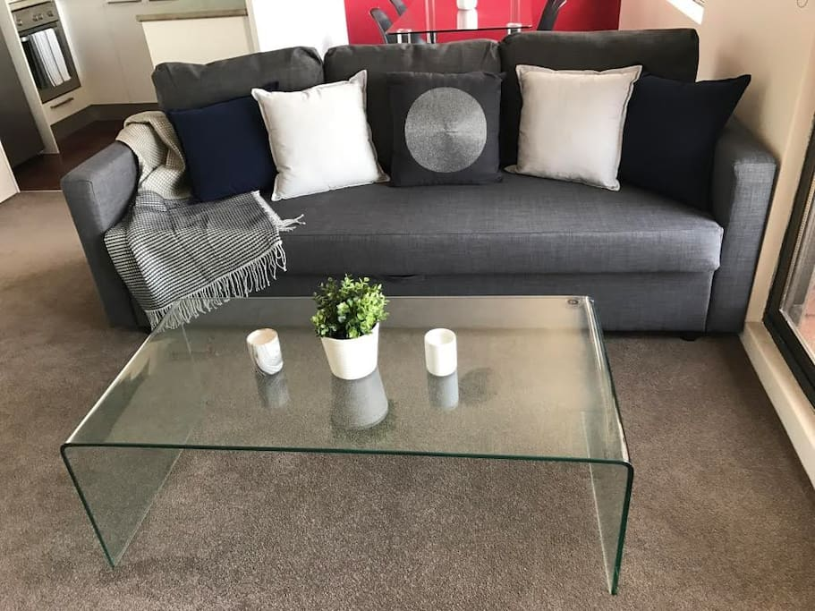 Lounge and coffee table